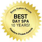 Boca Raton Forum Best Day Spa 10 Years